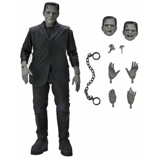 Universal Monsters Ultimate Frankenstein Black and White 7-Inch Scale Action Figure - AUGUST 2021