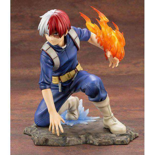 My Hero Academia ArtFX J Shoto Todoroki Statue - JULY 2019