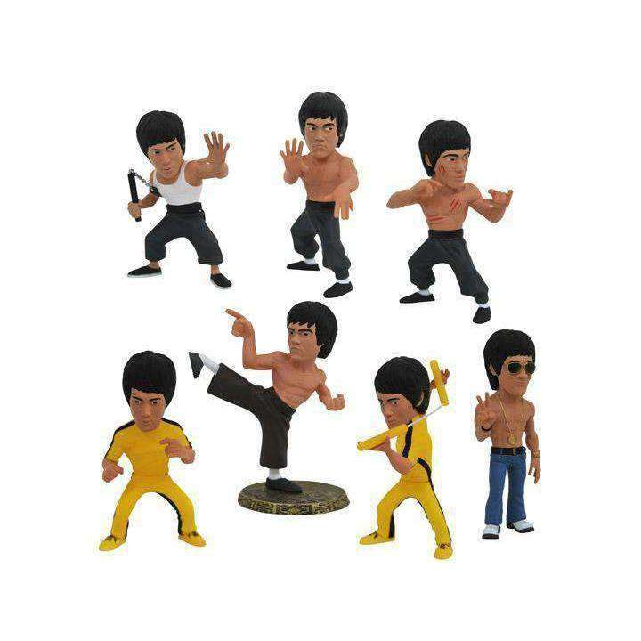 Bruce Lee D-Formz Box of 12 Figures - JUNE 2019