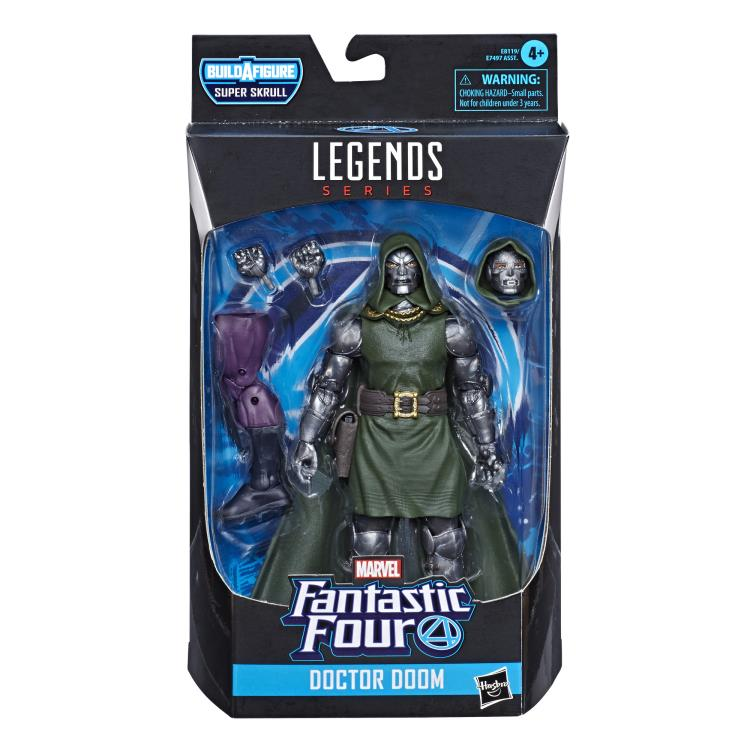 Fantastic Four Marvel Legends 6-Inch Action Figures (BAF Super Skrull) - Doctor Doom - JANUARY 2020