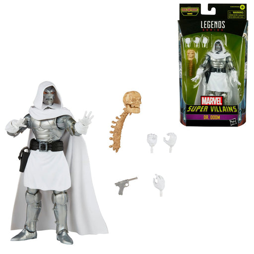 Marvel Legends Super Villains Dr. Doom 6-Inch Action Figure - AUGUST 2021