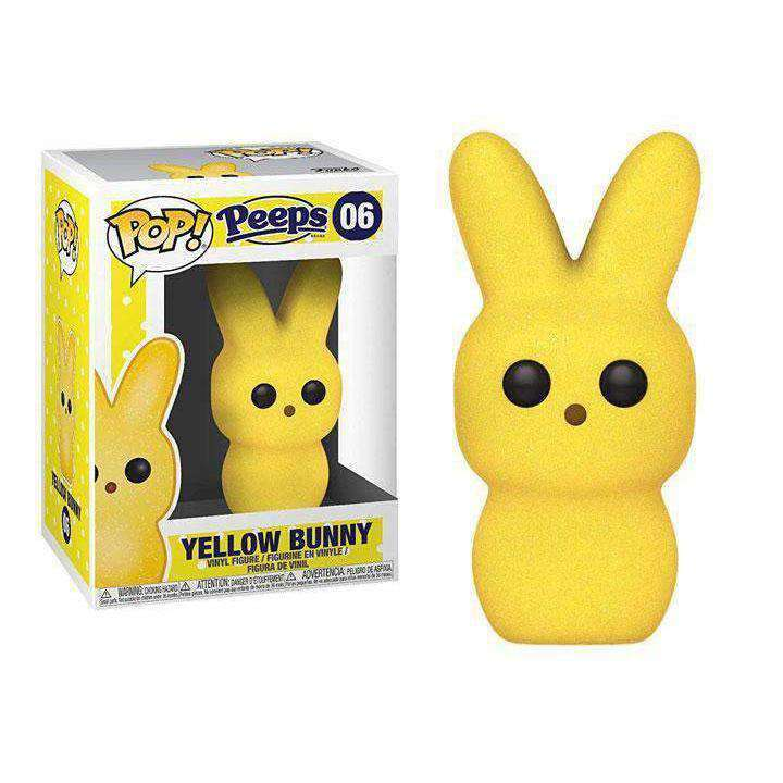 Pop! Candy: Peeps - Yellow Bunny - MAY 2019