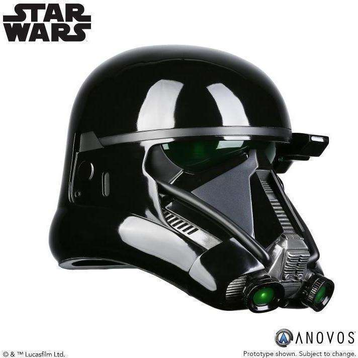 Star Wars Death Trooper Specialist (Rogue One) 1:1 Scale Wearable Helmet - Q2 2019