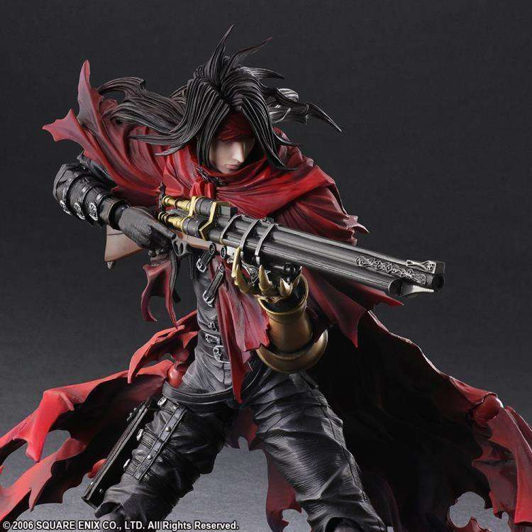 Dirge of Cerberus: Final Fantasy VII Play Arts Kai Vincent Valentine  - AUGUST 2018