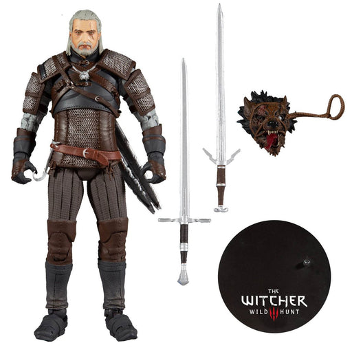 The Witcher 3: The Wild Hunt Geralt of Rivia Series 1 Action Figure - JANUARY 2021