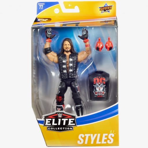 WWE Elite Collection Series 77 - AJ Styles (DAMAGED BOX)
