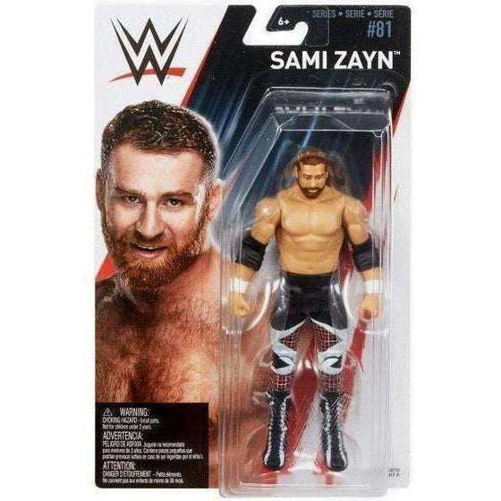 WWE Wrestling Series 81 Sami Zayn Action Figure