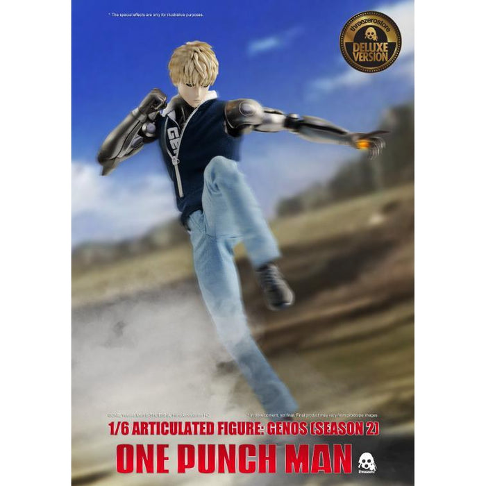 One Punch Man Season 2 Genos Deluxe Version 1:6 Scale Action Figure - Q4 2020
