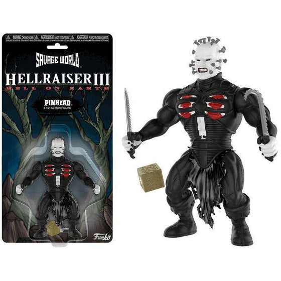 Hellraiser III Savage World Pinhead - December 2018