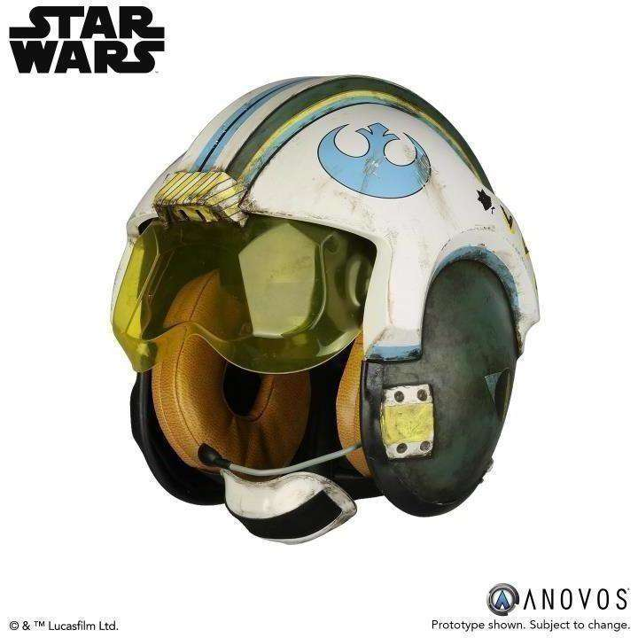 Star Wars General Merrick (Rogue One) 1:1 Scale Wearable Helmet (Blue Squadron) - Q1 2019