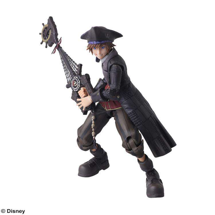 Kingdom Hearts III Bring Arts Sora (Pirates of The Caribbean Ver.) - SEPTEMBER 2019