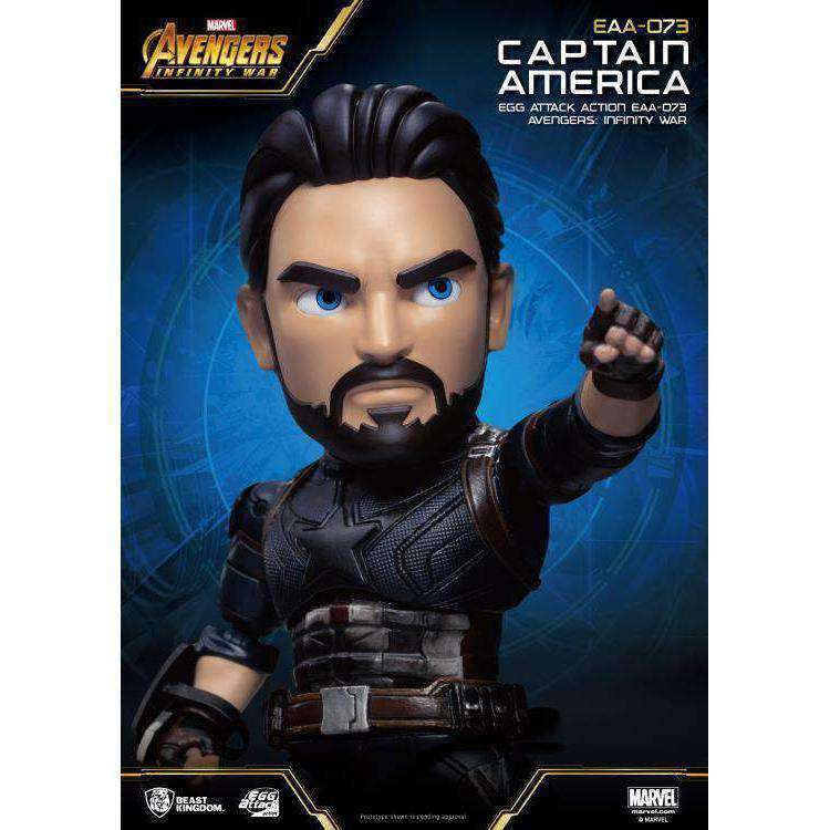 Avengers: Infinity War Egg Attack Action EAA-073 Captain America PX Previews Exclusive - NOVEMBER 2019