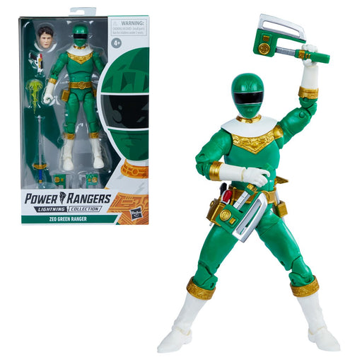 Power Rangers Lightning Collection Zeo Green Ranger 6-Inch Action Figure - MARCH 2021