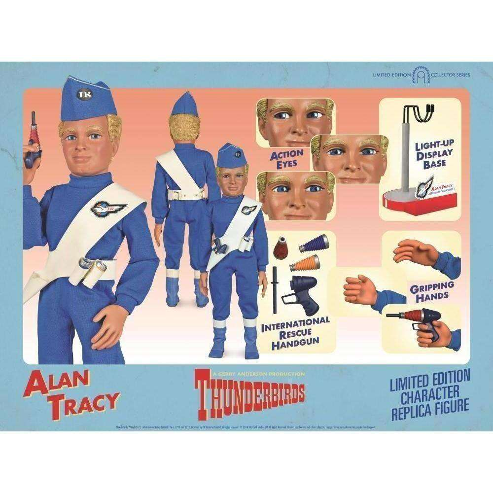 Thunderbirds Alan Tracy (International Rescue) Character Replica Figure - Q3 2019