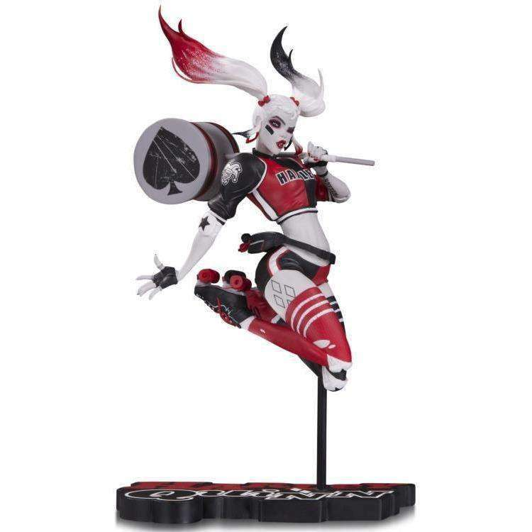 DC Comics - Red White & Black Harley Quinn Statue by Babs Tarr - APRIL 2018