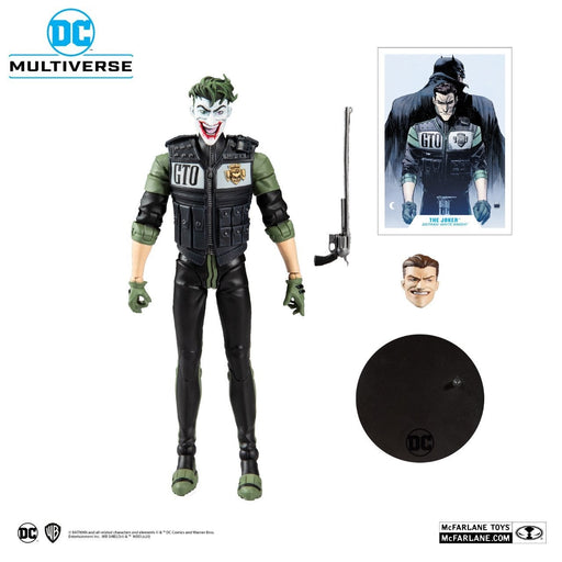 DC Multiverse Batman White Knight Joker 7-Inch Action Figure (DAMAGED BOX)