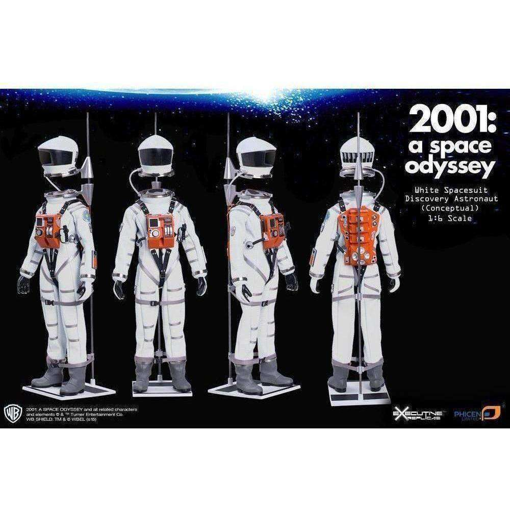 2001: A Space Odyssey 1/6 Scale Discovery Astronaut White Conceptual Space Suit - JUNE 2018