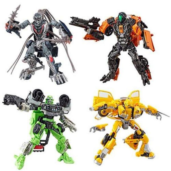 Transformers Studio Series Deluxe Wave 3 (Revision 1) - Set of 4