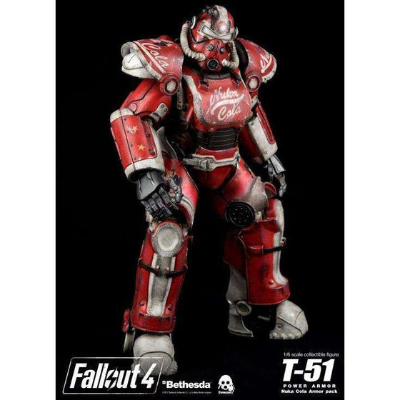 Fallout 4 - T-51 Power Armor (Nuka Cola) 1/6 Scale Armor Pack - PRE-ORDER SHIPS Q1 2018