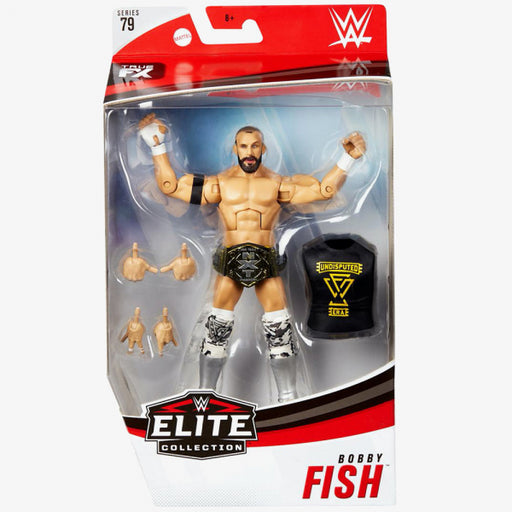 WWE Bobby Fish Elite Series 79 Action Figure - OCTOBER 2020