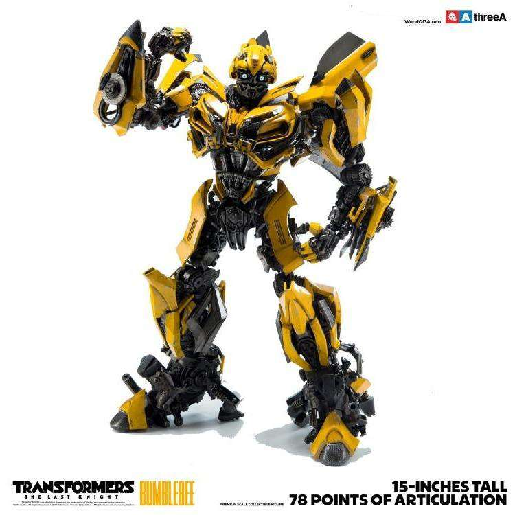 Transformers: The Last Knight - Bumblebee Premium Scale Collectible Figure by ThreeA - PRE-ORDER SHIPS 1Q 2018