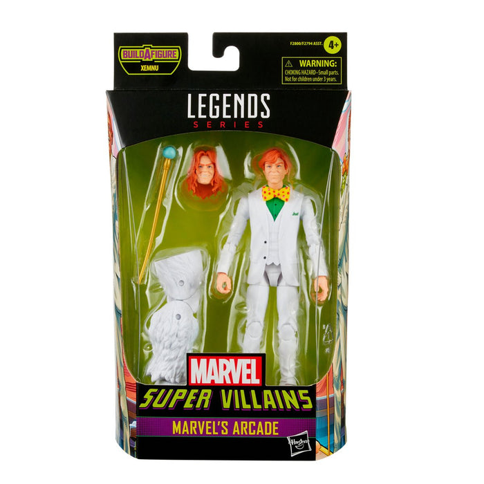 Marvel Legends Super Villains Marvel's Arcade 6-Inch Action Figure - AUGUST 2021