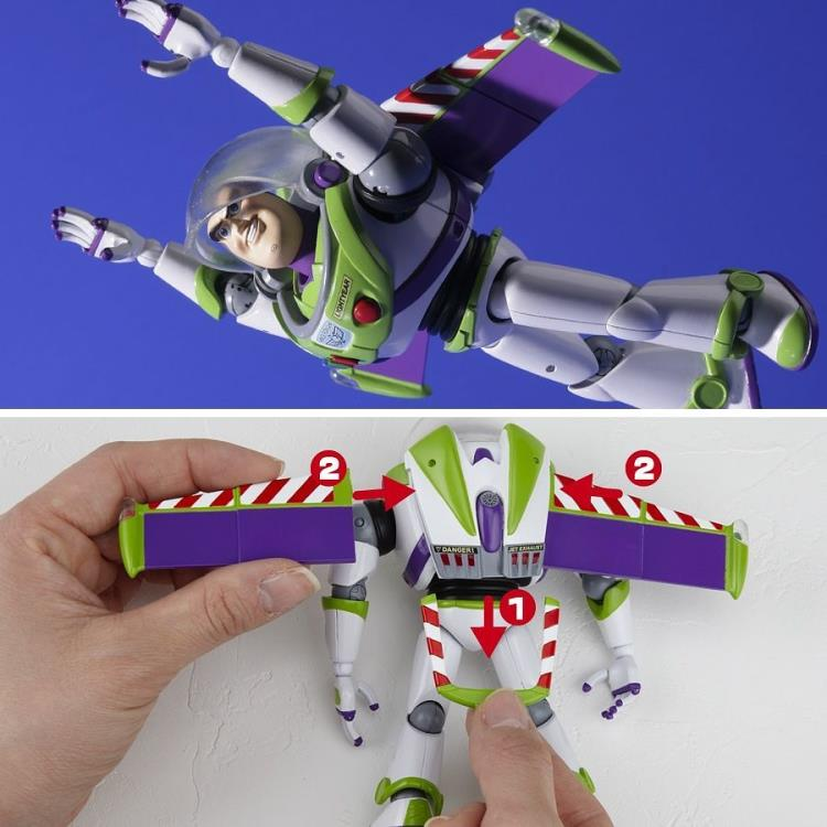 Toy Story Legacy of Revoltech LR-046 Buzz Lightyear (Renewal Package Ver.) - SEPTEMBER 2019