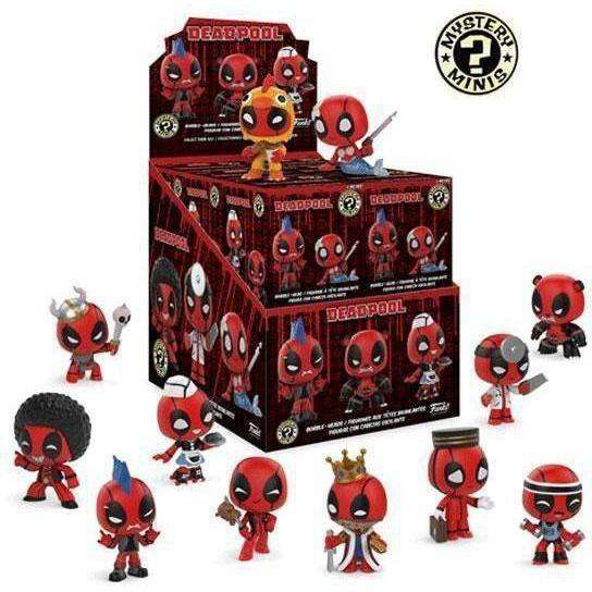 Deadpool Mystery Minis Box of 12 Figures - MAY 2018