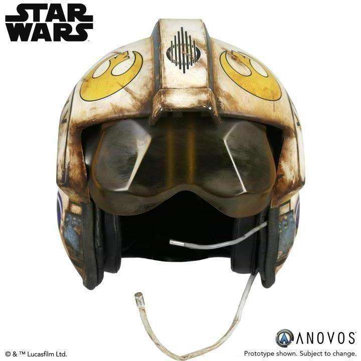 Star Wars Rey Salvaged X-Wing (The Force Awakens) 1:1 Scale Wearable Helmet - Q2 2019