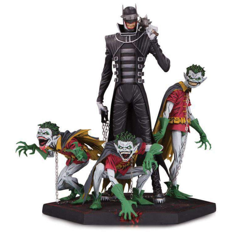 Dark Nights: Metal The Batman Who Laughs & Robin Minions Deluxe Limited Edition Statue - DECEMBER 2019