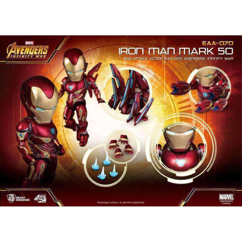 Avengers: Infinity War Egg Attack Action EAA-070 Iron Man Mark L PX  Previews Exclusive - NOVEMBER 2019