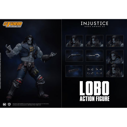 Injustice: Gods Among Us Lobo 1:12 Scale Figure - FEBRUARY 2020
