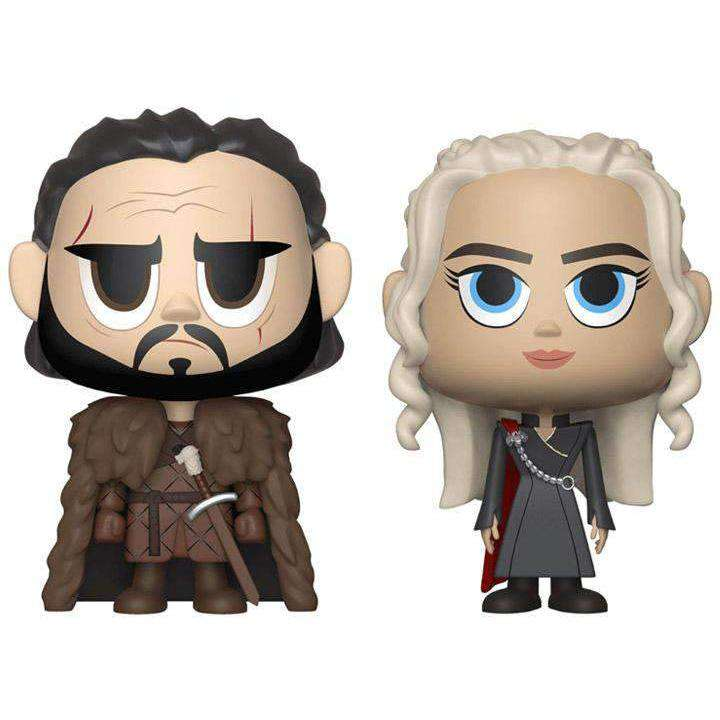 Game of Thrones Vynl. Jon Snow + Daenerys Targaryen - JANUARY 2019
