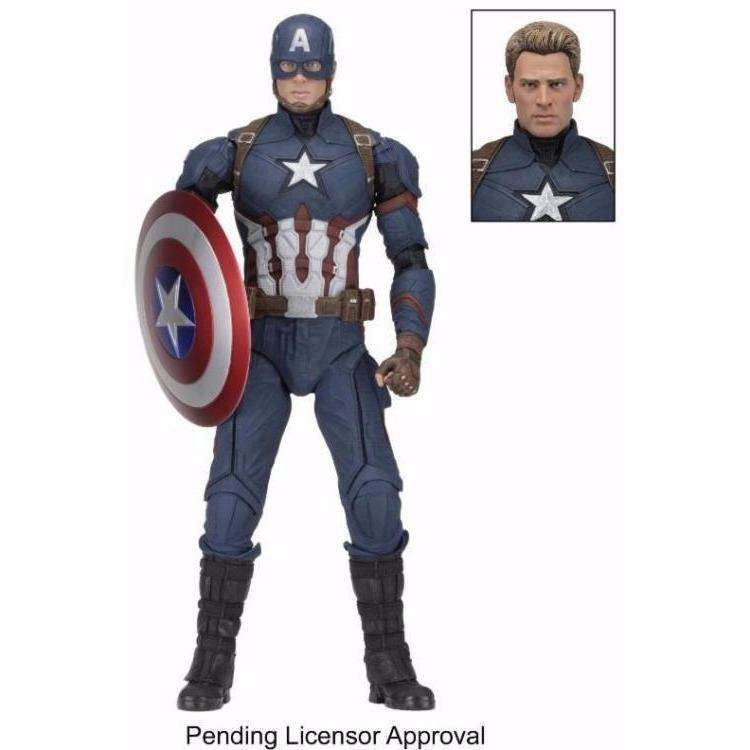 Captain America: Civil War - Captain America 1/4 Scale Figure - By NECA - PRE-ORDER SHIPS FEBRUARY 2018