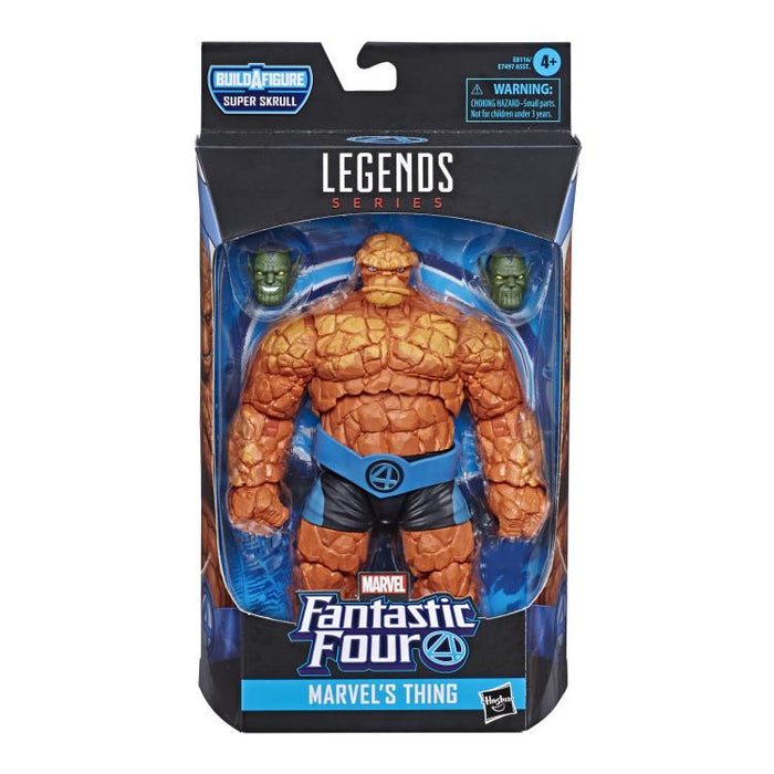 Fantastic Four Marvel Legends 6-Inch Action Figures (BAF Super Skrull) - Thing