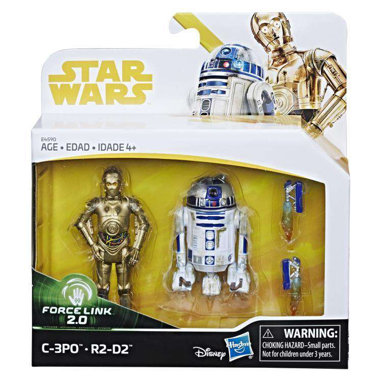 Star Wars Force Link 2.0 C-3PO & R2-D2 Two-Pack - Q3 2019