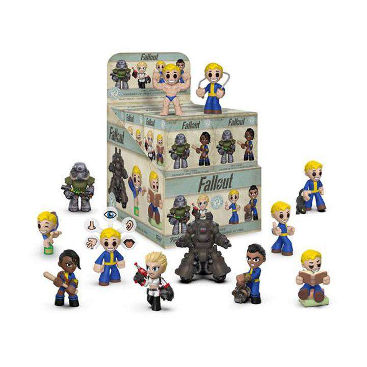Fallout Mystery Minis Box of 12 Figures - December 2018