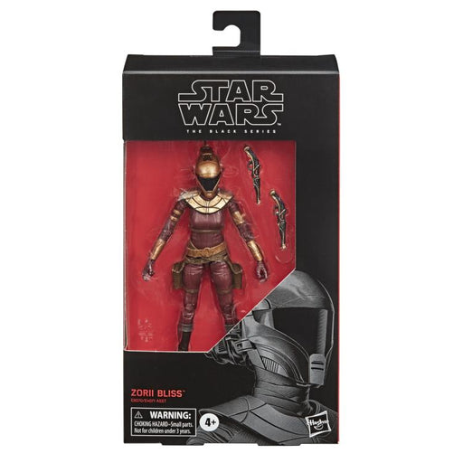 Star Wars The Black Series The Rise of Skywalker Zorii Bliss 6-Inch Action Figure (DAMAGED BOX)