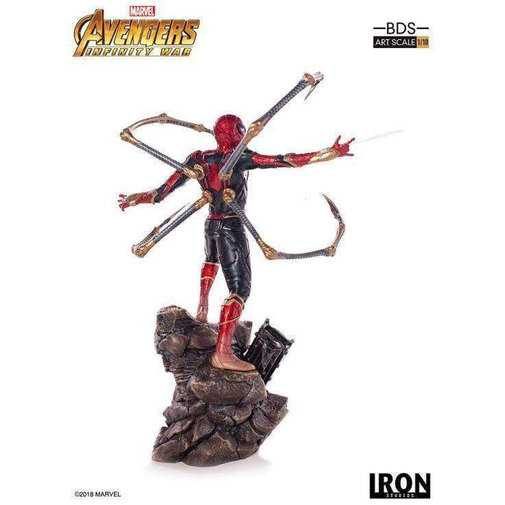 Avengers: Infinity War Battle Diorama Series Iron Spider 1/10 Art Scale Statue - Q2 2019