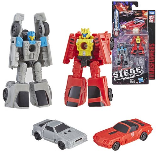 Transformers Generations War for Cybertron: Siege Micromasters Autobot Race Car Patrol Roadhandler and Swindler Duplicate Listing
