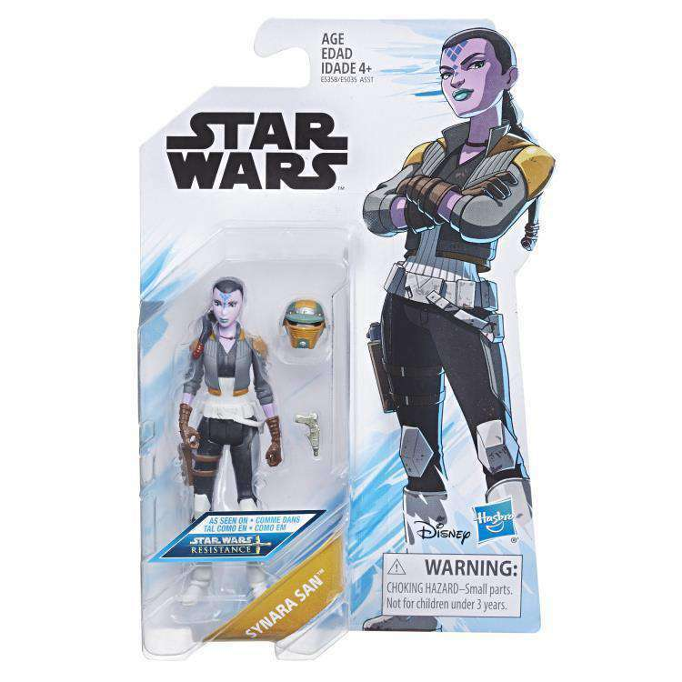 Star Wars Resistance Wave 1 - Synara San figure