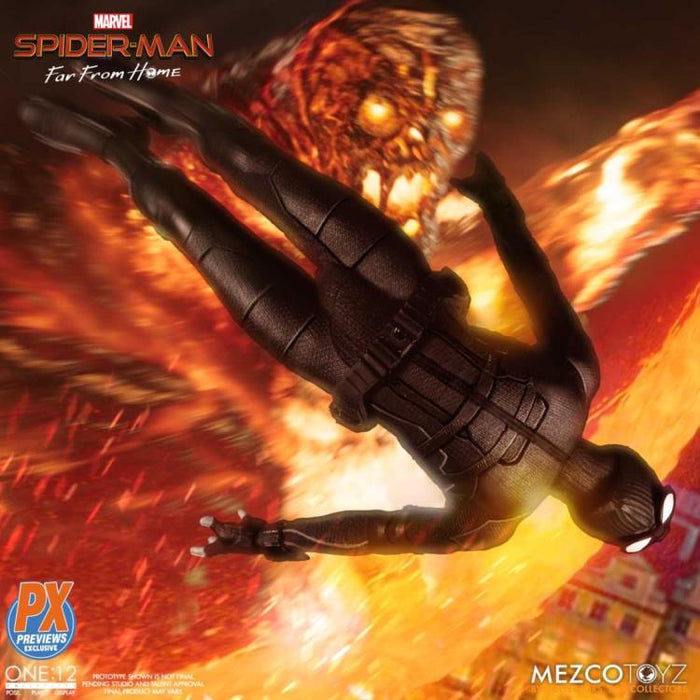 Spider-Man: Far From Home Stealth Suit One:12 Action Figure - Previews Exclusive - SEPTEMBER 2020