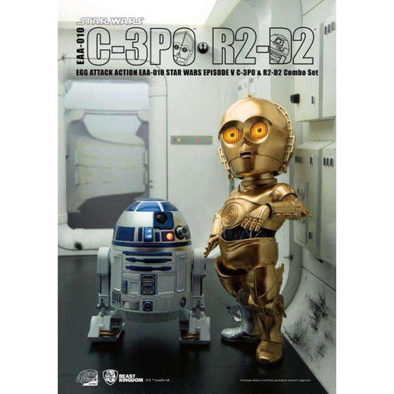 Star Wars Egg Attack Action EAA-010 C-3PO & R2-D2 (Empire Strikes Back)