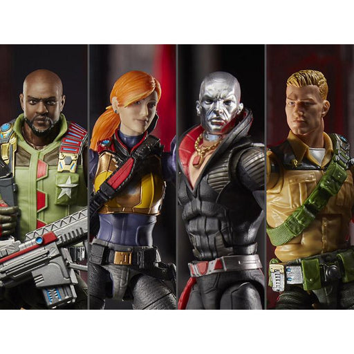G.I. Joe Classified Series Wave 1 Set of 5 Figures - BACKORDERED JUNE 2020