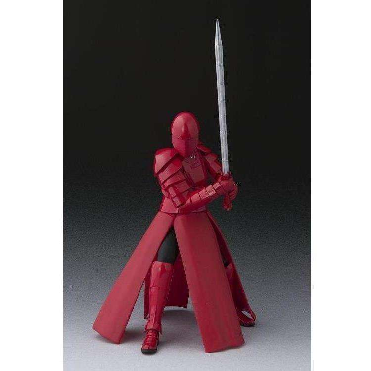 Star Wars S.H.Figuarts Elite Praetorian Guard with Whip Staff (The Last Jedi) Action Figure