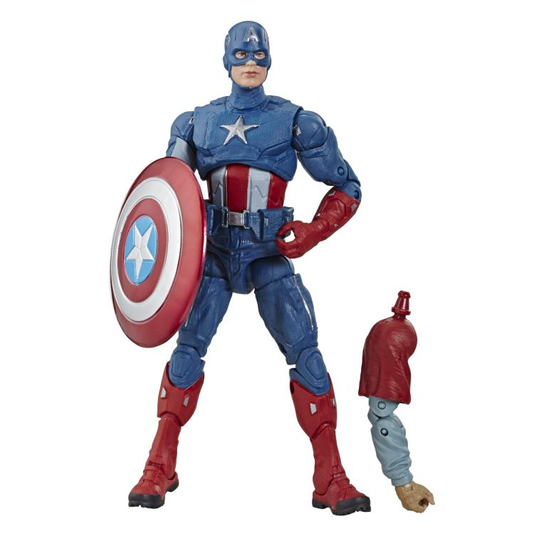 Avengers: Endgame Marvel Legends 6-Inch Action Figures Wave 3 (Fat Thor  BAF) - Captain America - OCTOBER 2019