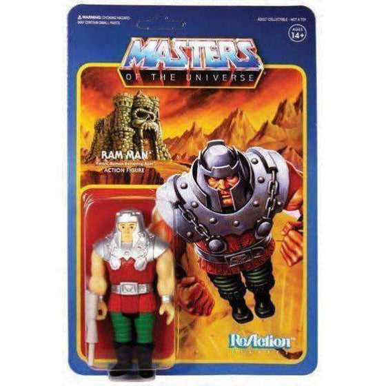 Masters of the Universe ReAction Ram Man Figure