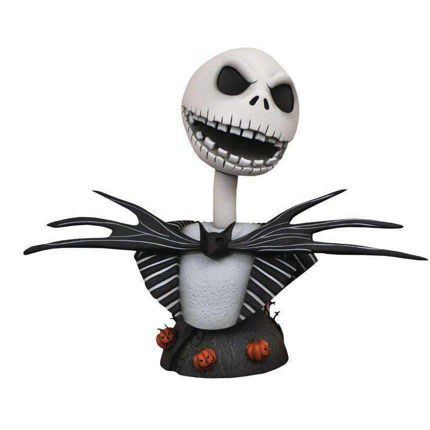 The Nightmare Before Christmas Legendary Film Jack Skellington 1/2 Scale Limited Edition Bust- JULY 2019