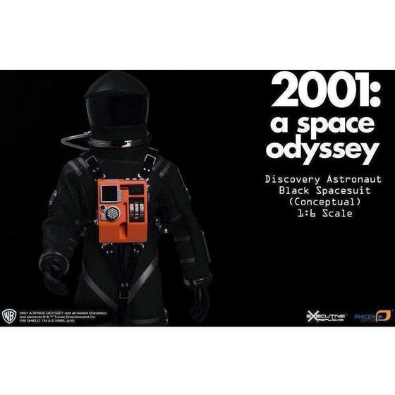2001: A Space Odyssey Discovery Astronaut 1/6 Scale Conceptual Black Space Suit - AUGUST 2018