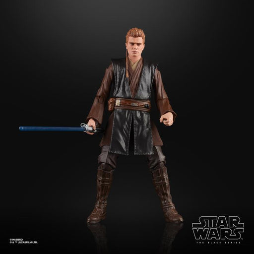 Star Wars The Black Series Anakin Skywalker (AOTC) 6-Inch Action Figure (DAMAGED BOX)